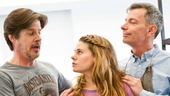 Peter and the Starcatcher Rehearsal – Christian Borle – Rick Holmes – Celia Keenan-Bolger – Arnie Burton