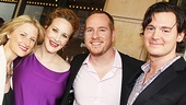 Peter and the Starcatcher Opening Night – Mamie Gummer – Katie Finneran – Darren Goldstein – Benjamin Walker