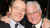 All the Way stars Bryan Cranston and Steve Vinovich come in for a snapshot.