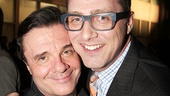 Nathan Lane has the support of his partner, producer Devlin Elliott, at the concert.