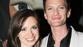 Neil Patrick Harris with his assistant Zoe.