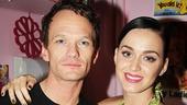 Hedwig - Backstage - Katy Perry - Josh Groban - OP - 4/14 - Neil Patrick Harris - Katy Perry