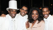 After Midnight - backstage - OP - 5/14 - Desmond Richardson - Phillip Attmore - Oprah Winfrey -  Justin Prescott