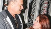 THe Last Ship - Backstage - 10/14 - Tom Hanks - Rachel Tucker