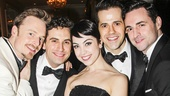 An American in Paris - opening - 4/15 - Christopher Wheeldon - Brandon Uranowitz - Leanne Cope - Robert Fairchild - Max von Essen