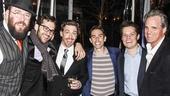Something Rotten! - Opening - wide - 4/15 - Chris Sullivan - Adam Chanler-Berat - Keith Nobbs - Austin Lesch - Michael Park