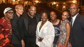 Hamilton - Opening - 8/15 - Spike Lee, Tonya Lewis Lee, Busta Rhymes, LaTanya Richardson Leslie Odom Jr., Nicolette Robinson and Samuel L Jackson