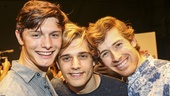 Spring Awakening - Meet the Press - 8/15 - Joshua Castille, Andy Mientus - Daniel David Stewart