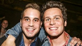 Hamilton - backstage - 9/15 - Jonathan Groff and Ben Platt
