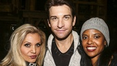 Hamilton - backstage - 9/15 - Orfeh, Andy Karl and Renee Elise Goldsberry