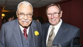 The Gin Game - Opening - 10/15 - James Earl Jones with playwright D.L. Coburn