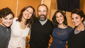 Fiddler on the Roof - Meet the Press - 10/15 - Melanie Moore, Jessica Hecht, Danny Burstein, Samantha Massell and Alexandra Silber