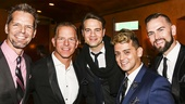 The Jersey Boys - 10th Anniversary - 11/15 - J Robert Spencer, Christian Hoff, Jordan Roth, Michael Longoria and Daniel Reichard
