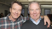 Looks like All The Way co-stars Bryan Cranston & Michael McKean have already bonded!