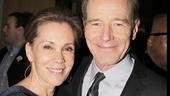 Actress Robin Dearden celebrates her husband's big night.
