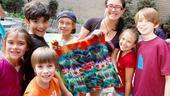 Tie-Dye with Hair - broadway kids