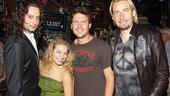 Nickelback at Rock of Ages - Constantine Maroulis - Savannah Wise - Ryan Peake - Chad Kroeger
