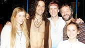 Jason Mraz and Judd Apatow at Hair - Caissie Levy - Will Swenson - Gavin Creel - Judd Apatow - Maude Apatow