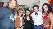 Emma Roberts at Rock of Ages - Emma Roberts - Tad Wilson - Lauren Molina - Wesley Taylor - Katherine Tokarz