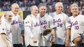 Will Swenson Sings at Mets Game - players