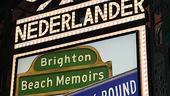 Brighton Beach Memoirs Opening Night – marquee