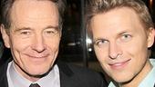 All the Way star Bryan Cranston snaps a photo with MSNBC's Ronan Farrow.
