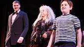 Addams Family Chicago opening – cc – Zachary James – Jackie Hoffman – Adam Riegler