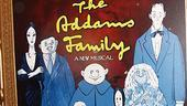 Addams Family Chicago opening – poster