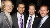 Addams Family Chicago opening – Bruce Cohen – Sergio Trujillo – Jack Noseworthy