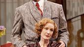 Victor Garber as Garry Essendine and Lisa Banes as Liz Essendine in Present Laughter.