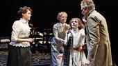 Alison Pill as Annie Sullivan, Jennifer Morrison as Kate Keller, Abigail Breslin as Helen Keller and Matthew Modine as Captain Keller in The Miracle Worker.