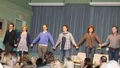 Next Fall Opening Night – Sean Dugan – Maddie Corman – Patrick Breen – Patrick Heusinger – Connie Ray – Cotter Smith