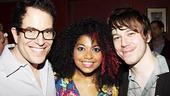 American Idiot Sound Check - Michael Mayer - Rebecca Naomi Jones - John Gallagher Jr