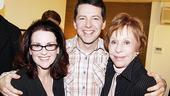 Burnett & Mullally at Promises, Promises – Megan Mullally – Sean Hayes – Carol Burnett