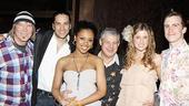 Hair London Opening Night – James Rado – Will Swenson – Sasha Allen – Cameron Mackintosh – Caissie Levy – Gavin Creel