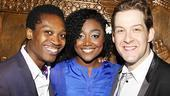 Hair London Opening Night – Ato Blankson-Wood – Patina Miller – Andrew Kober