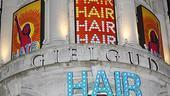 Hair London Opening Night – marquee