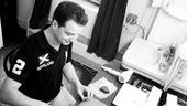 Sondheim on Sondheim Backstage – Euan Morton