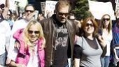 Hair at the National Equality March - Kristin Chenoweth - Marc Kudisch - Anne L. Nathan