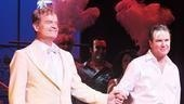 La Cage aux Folles Opening Night – Kelsey Grammer – Douglas Hodge (curtain call)
