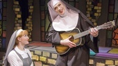 Amy Rutberg as Agnes and Charles Busch as Mother Superior in The Divine Sister.