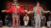 Colman Domingo as Mr. Bones and Forrest McClendon as Mr. Tambo The Scottsboro Boys.