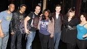 Glee Cast at Sister Act – group shot