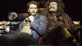 Matthew Morrison as J.M. Barrie & Kelsey Grammer as Captain Hook in Finding Neverland