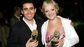 2006 Theatre World Awards - John Lloyd Young - Maria Freidman