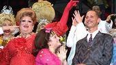 Hairspray Opening - Curtain Call - Harvey Fierstein - Marissa Jaret Winokur - John Waters