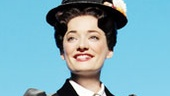 Laura Michelle Kelly as Mary in Mary Poppins.