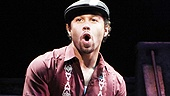 Corbin Bleu as Usnavi and Christopher Jackson as Benny in In the Heights.
