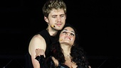 Rent at the Hollywood Bowl – Vanessa Hudgens – Aaron Tveit (onstage)