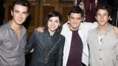 Jonas Addams – Kevin Jonas – Krysta Rodriguez – Wesley Taylor – Nick Jonas